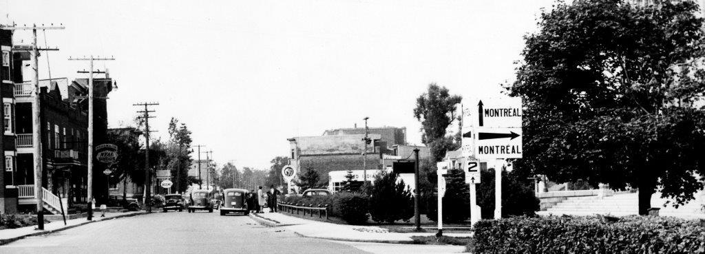 Chemin Sainte-Foy ver 1945