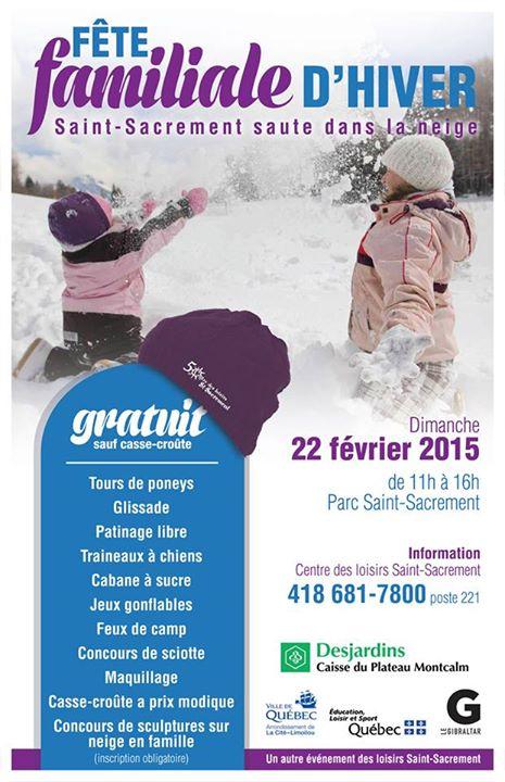 Fête hiver 2015